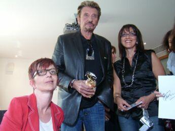 Les fans de Johnny Hallyday : un moment unique avec leur idole