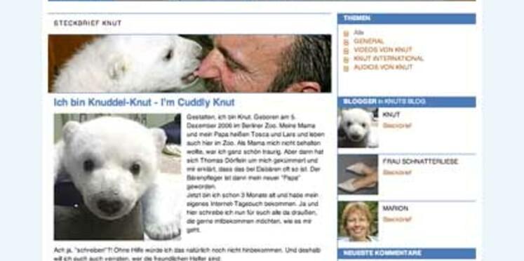 """""""Knut est la nouvelle mascotte de l'Allemagne"""""""