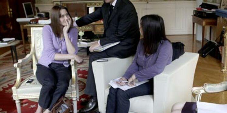 Exceptionnel : la visite surprise de Nicolas Sarkozy aux lectrices de Femme Actuelle