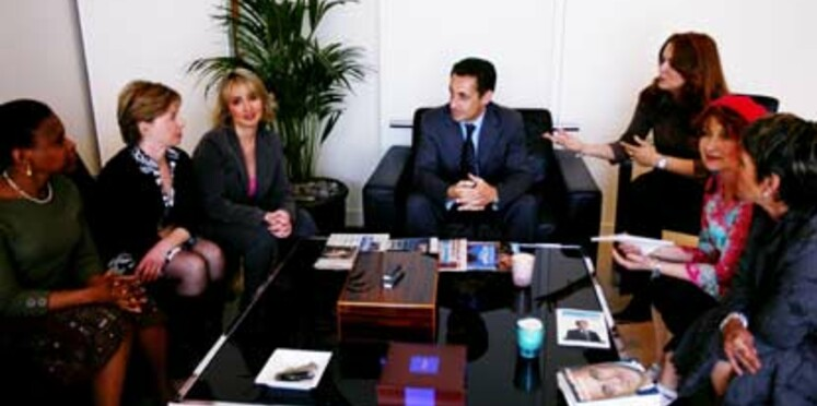 Nos lectrices ont rencontré Nicolas Sarkozy