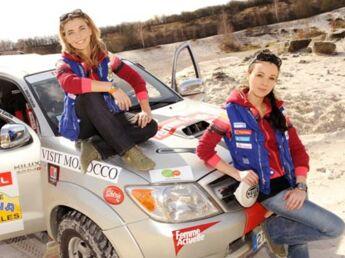 Rallye des Gazelles, elles roulent pour Femme Actuelle