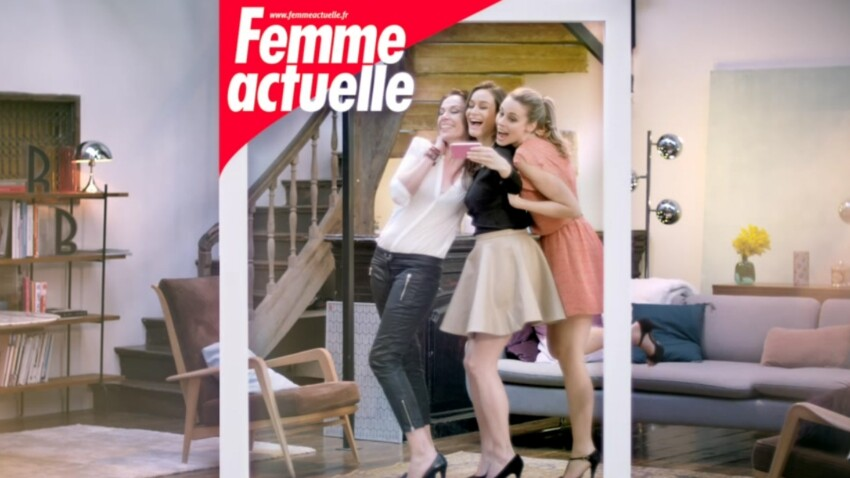 Découvrez le nouveau spot TV de Femme Actuelle