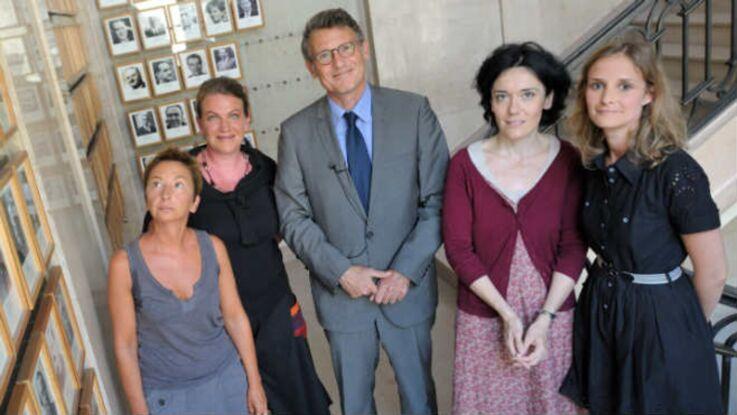 Vincent Peillon face aux lectrices de Femme Actuelle