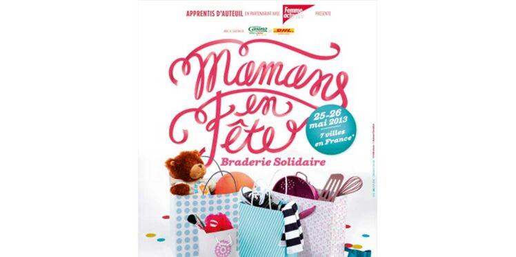 Mamans en fête... Carton plein pour les braderies solidaires