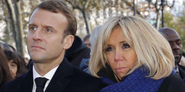 Vidéo - 13 novembre : Emmanuel et Brigitte Macron très émus, les larmes de la première dame