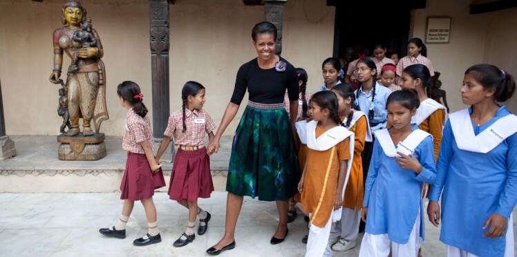 """""""62 millions"""" : la campagne de Michelle Obama pour l'accès à l'éducation"""