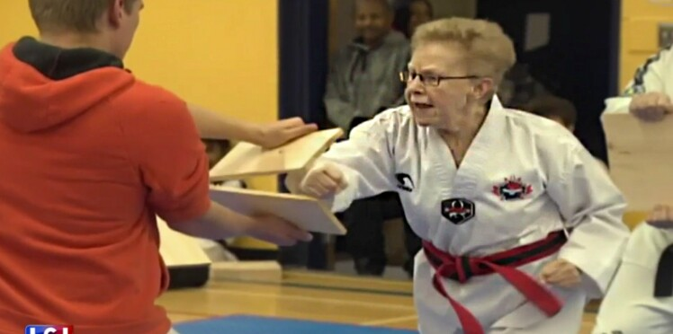 À 72 ans, elle obtient sa ceinture noire de taekwondo