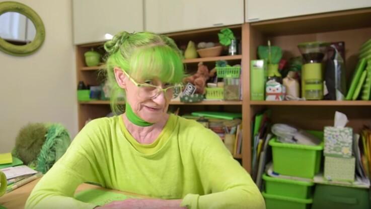 On est fans : voici Elizabeth, 74 ans, qui ne jure que par le vert