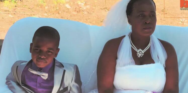 A 9 ans, il épouse... une mère de famille de 62 ans !