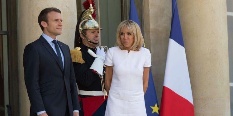 A l'Elysée, le personnel conquis par Brigitte Macron