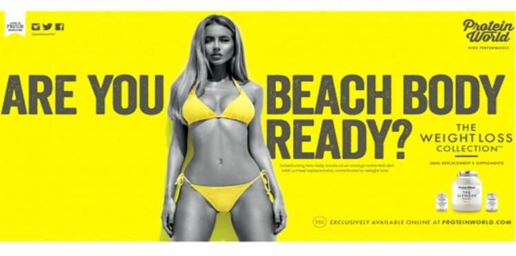 A Londres, les femmes au corps parfait sont interdites de pub