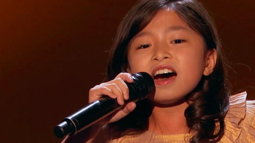 À neuf ans, Céline pourrait bien devenir la nouvelle Céline Dion