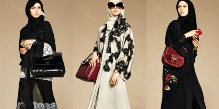 """Abaya"" : Dolce & Gabbana lance sa collection de hijabs"