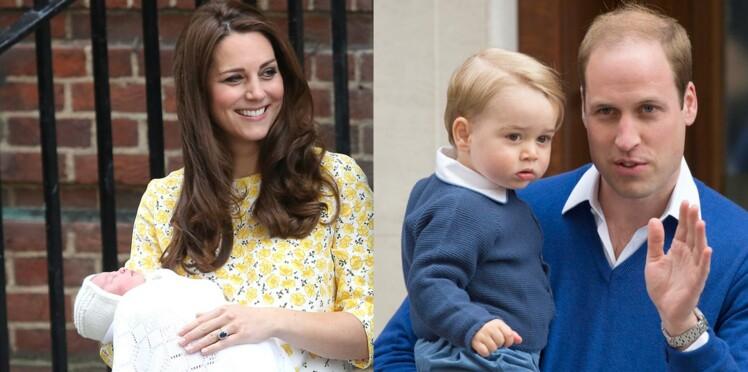 Les premières photos de la petite princesse et la visite de George toujours aussi mignon