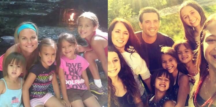 Une Américaine tient sa promesse et adopte les 4 filles de sa meilleure amie, morte d'un cancer