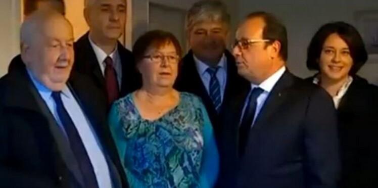 """""""Affaire Lucette"""", la nouvelle amie qui embarrasse François Hollande"""