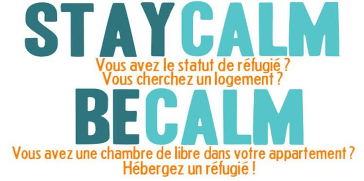 """Calm, le """"Airbnb des réfugiés"""""""