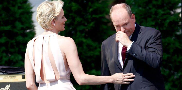 Vidéo : Albert de Monaco ému aux larmes après un discours de Charlène