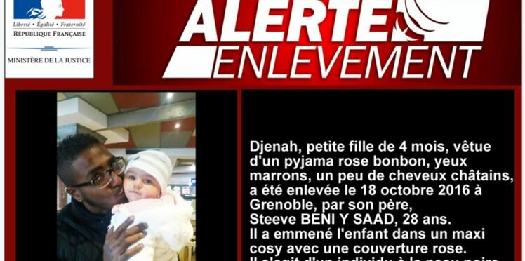 Alerte enlèvement : le papa de Djenah s'est rendu, la petite est en bonne santé