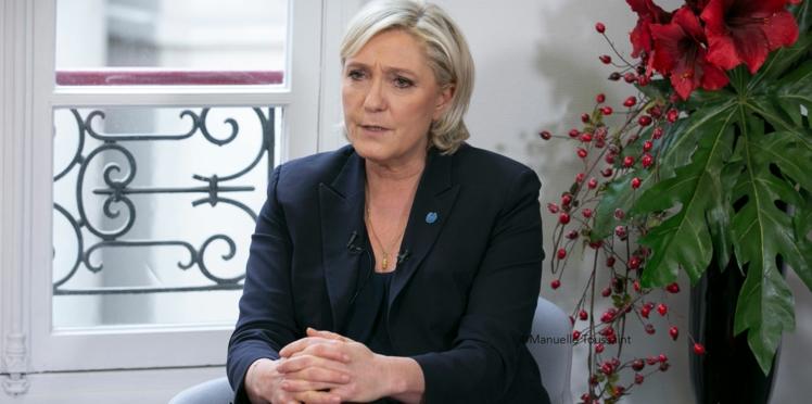 """""""Oui à l'allocation au premier enfant"""" : Marine Le Pen est pour mais n'a pas le budget"""