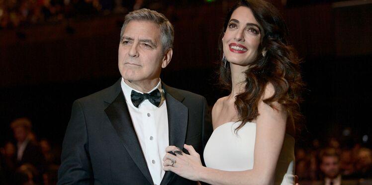Amal et George Clooney sont parents ! Découvrez les prénoms des jumeaux