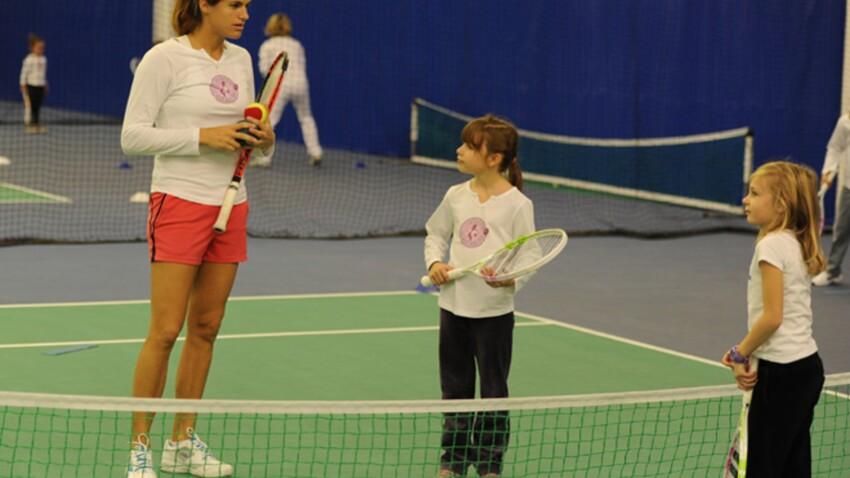 Amélie Mauresmo : le tennis expliqué aux enfants