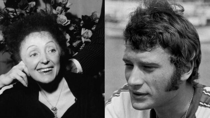 L'anecdote gênante sur Johnny Hallyday et Edith Piaf