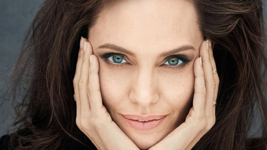 Angelina Jolie atteinte d'une paralysie de Bell