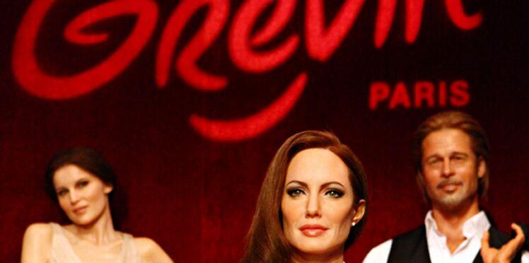 Angelina Jolie, jolie poupée de cire