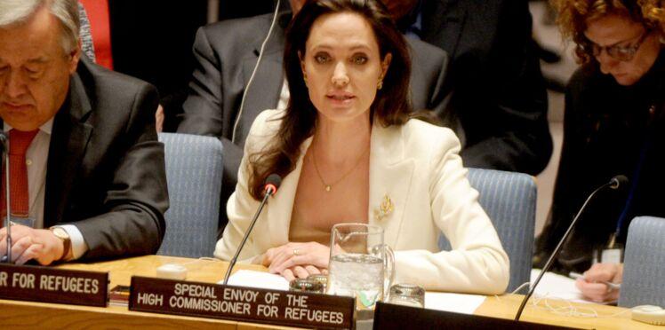 """Angelina Jolie : """"Ne blâmez pas les réfugiés pour aspirer à une vie meilleure"""""""