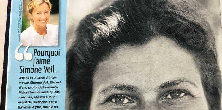 Anne-Sophie Lapix nous dit pourquoi elle aime Simone Veil