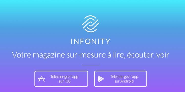 Infonity, la nouvelle application d'information ludique, qui s'adapte à vous