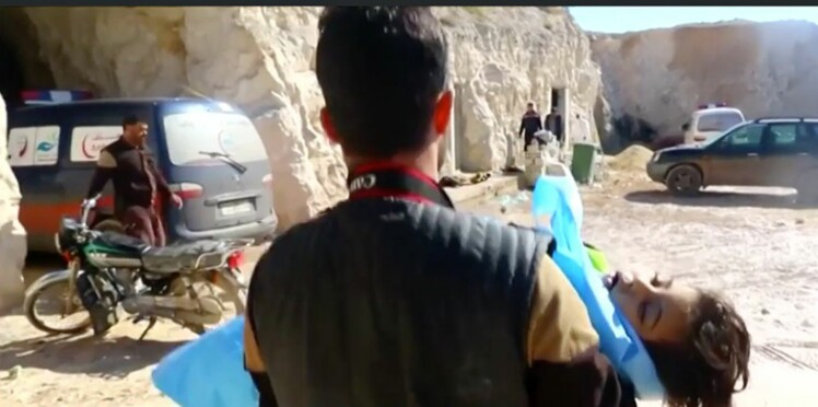 Syrie : 72 morts, dont 20 enfants par attaque chimique. Ce que l'on sait sur cette méthode atroce