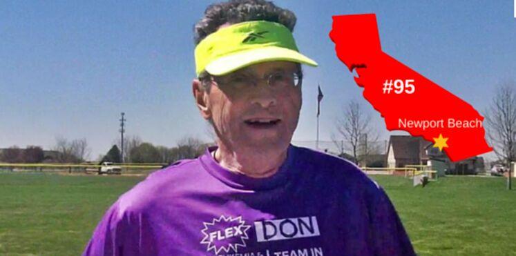 À 75 ans, un Américain accomplit son 100e marathon malgré son cancer