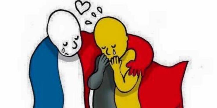 Attentats de Bruxelles: choc, émotion, dérision, les réactions des personnalités et anonymes