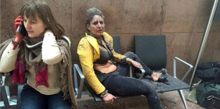 Symbole des attentats de Bruxelles, la survivante de cette photo parle pour la première fois