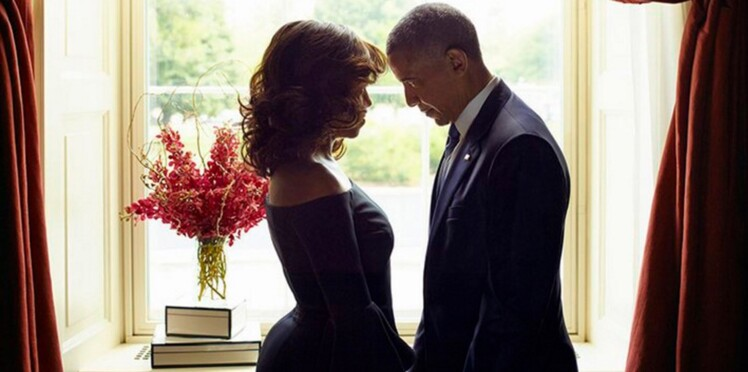 Barack et Michelle Obama : la photo qui fait le buzz