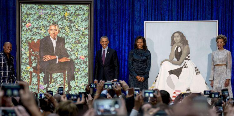 Barack et Michelle Obama : leurs portraits ne font pas l'unanimité