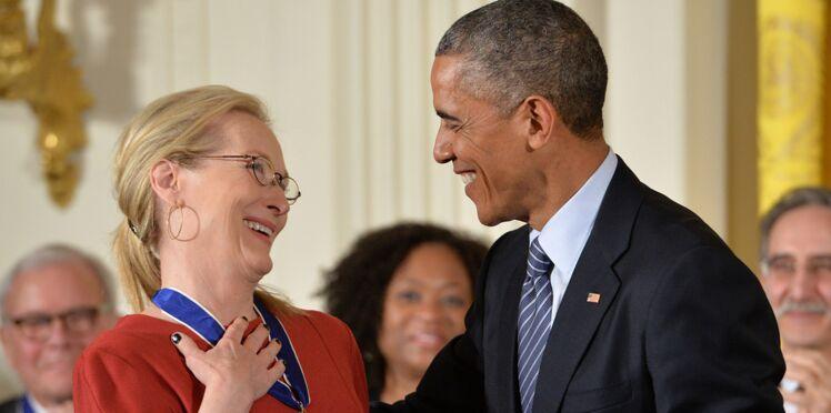 Quand Barack Obama fait une déclaration d'amour à Meryl Streep