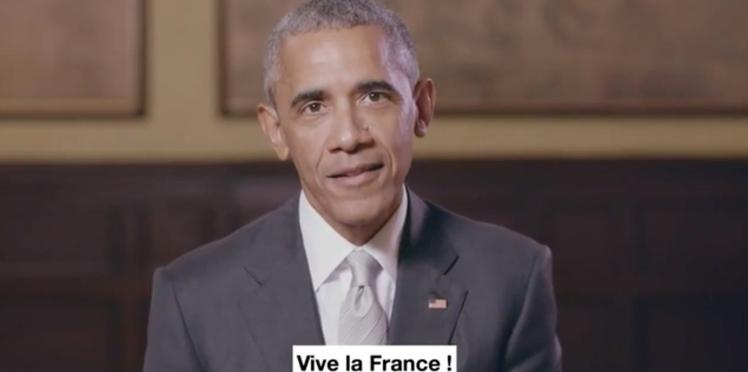 Vidéo - Barack Obama soutient Emmanuel Macron : découvrez son discours