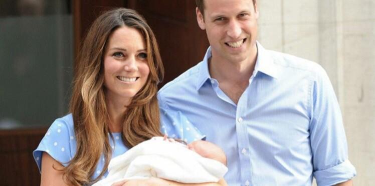 Bébé royal : premières photos et déclarations de Kate et William