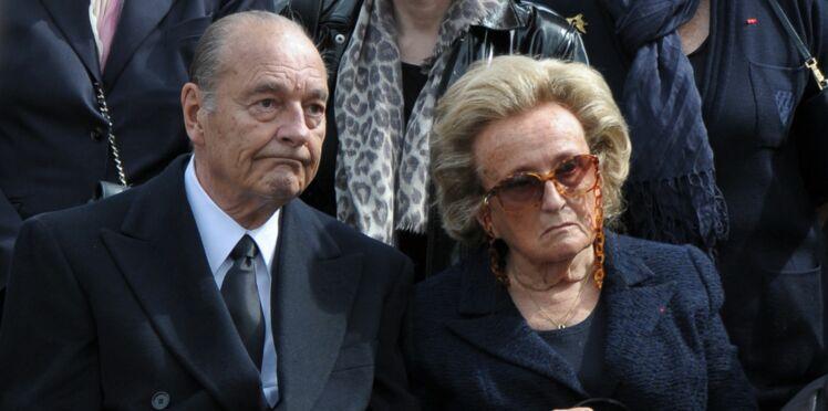 """Bernadette Chirac: """"Quand Jacques n'est pas content, il me donne un petit coup de canne"""""""
