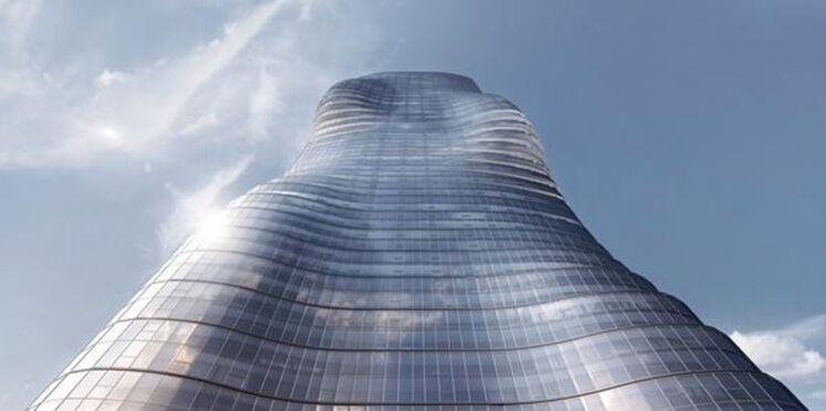 Un clip de Beyoncé inspire les formes d'un gratte-ciel