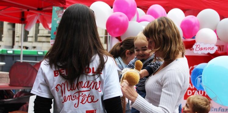 """Braderies solidaires: carton plein pour """"mamans en fête"""""""