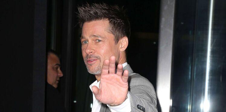 """Brad Pitt : le jour où il a mis un """"terrible vent"""" à une animatrice de télé française"""