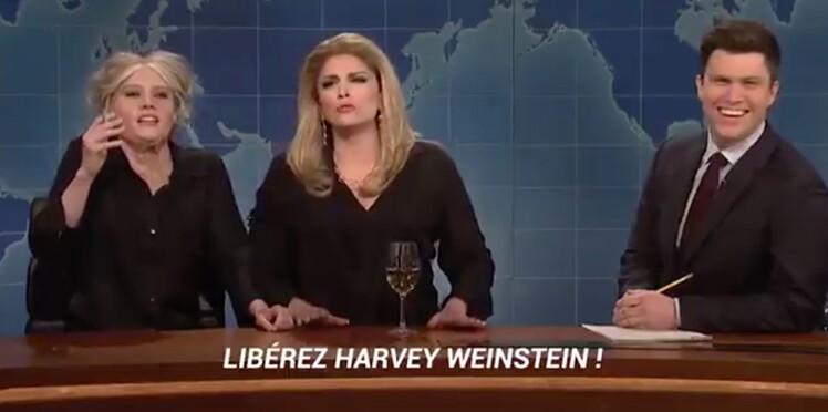 Vidéo - Brigitte Bardot et Catherine Deneuve ridiculisées dans l'émission américaine Saturday Night Live