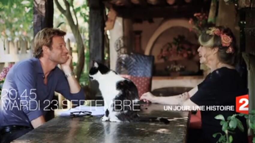 """Brigitte Bardot chez Laurent Delahousse dans """"un jour, un destin"""""""
