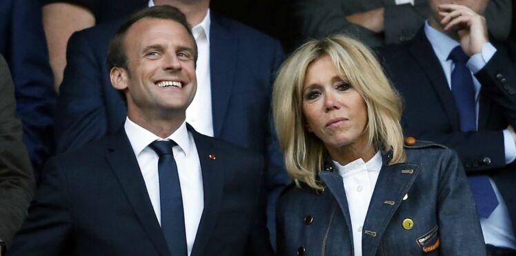 Brigitte et Emmanuel Macron : le Paris Saint-Germain leur a offert des cadeaux