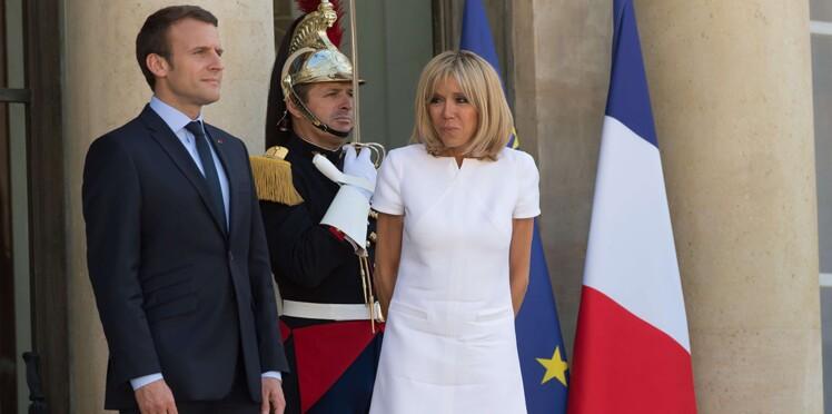 """Brigitte Macron évoque la fidélité de son mari """"Jupitérien"""", Emmanuel Macron"""