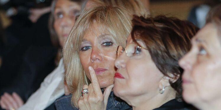 """Brigitte Macron, """"inquiète"""" pour l'avenir de son couple maintenant qu'Emmanuel Macron est président de la République"""